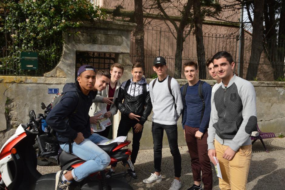 Les lycéens de Tarascon s'auto organisent contre la loi EL Khomri